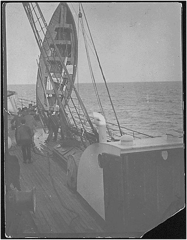 Titanic Lifeboat Number 7