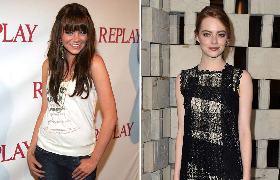 emma stone 2006 and 2015