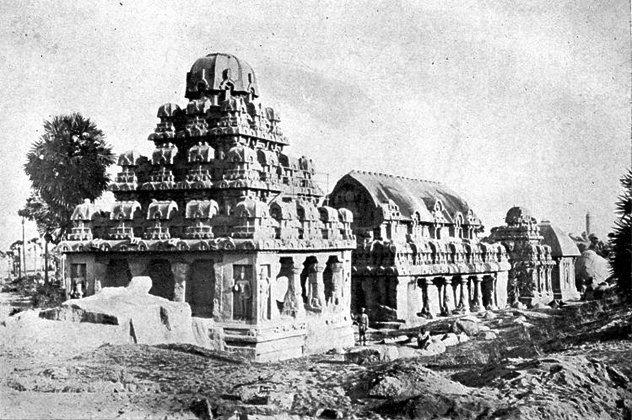 The 6 Mahabalipuram Pagodas