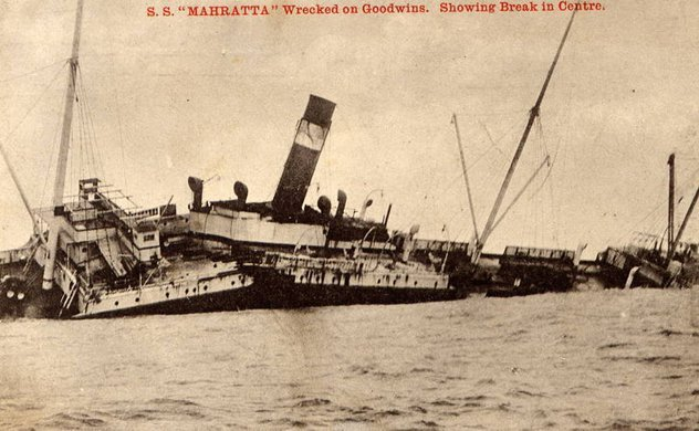 The SS Mahratta - Twice Over