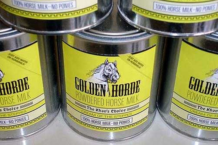 9. Horse Milk