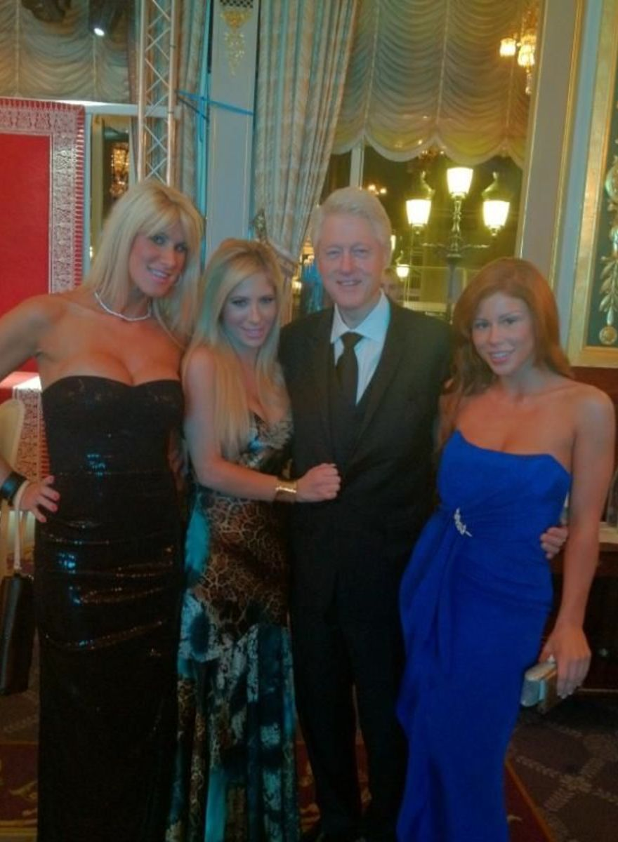 bill clinton women