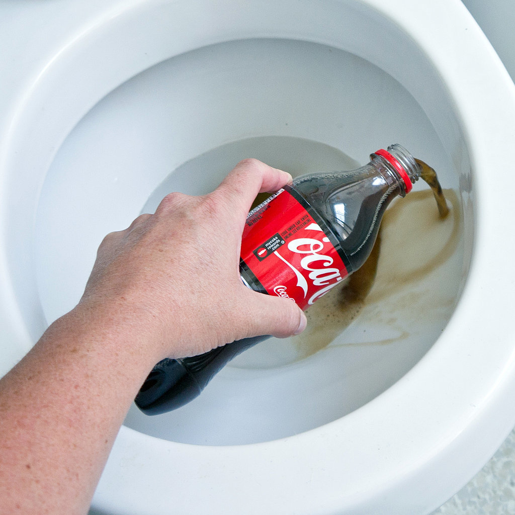 coke as toilet cleaner