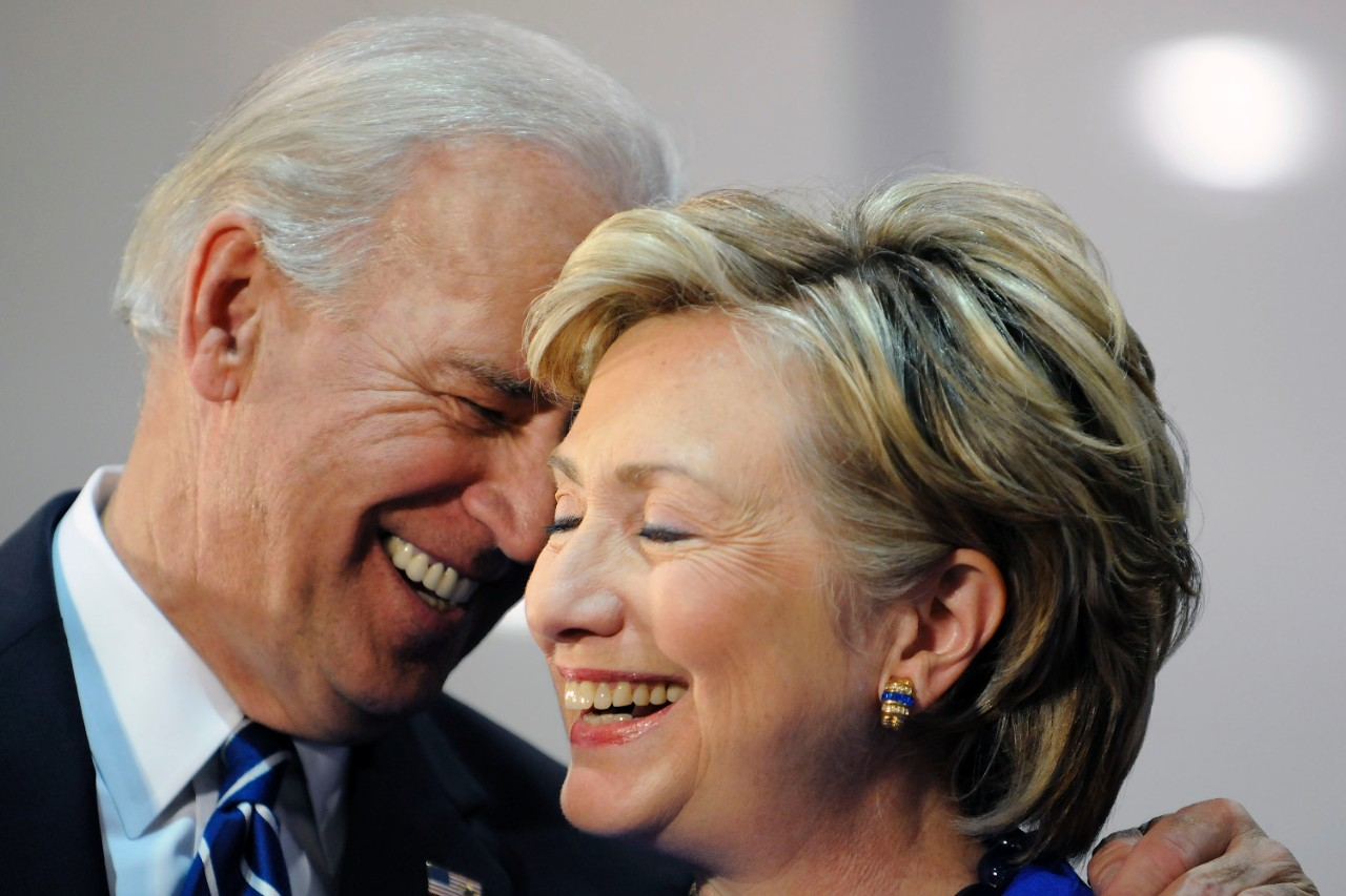 hillary and joe biden