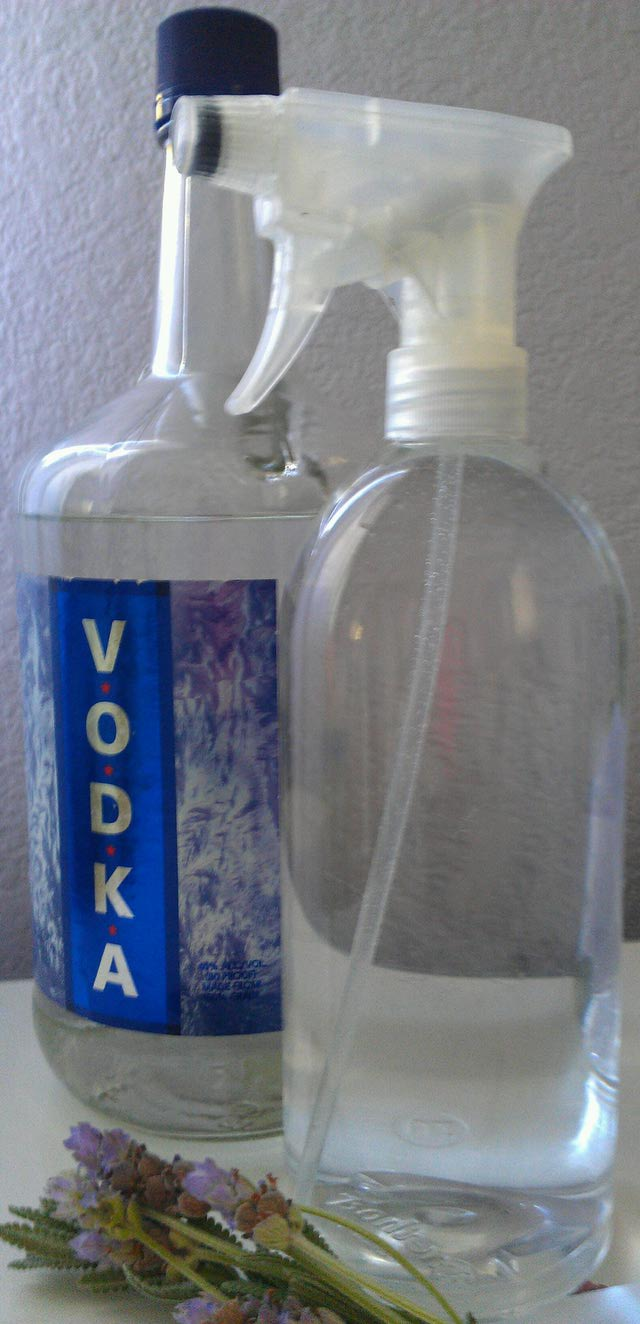 vodka as cleaner