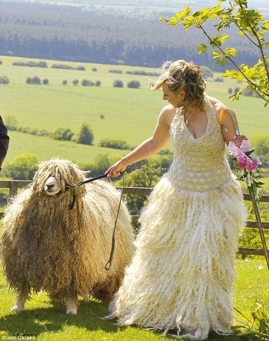 wooly dress