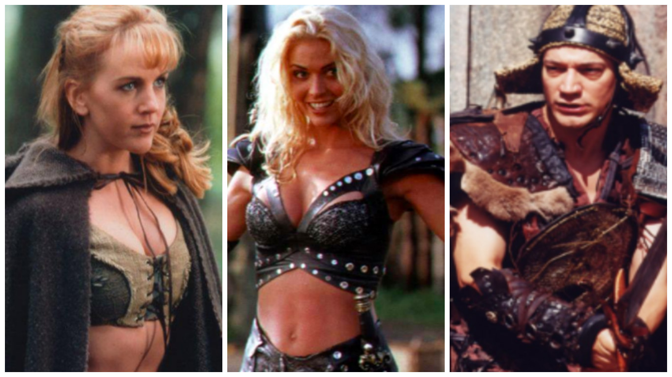 Xena is the warrior queen: actors and roles 36