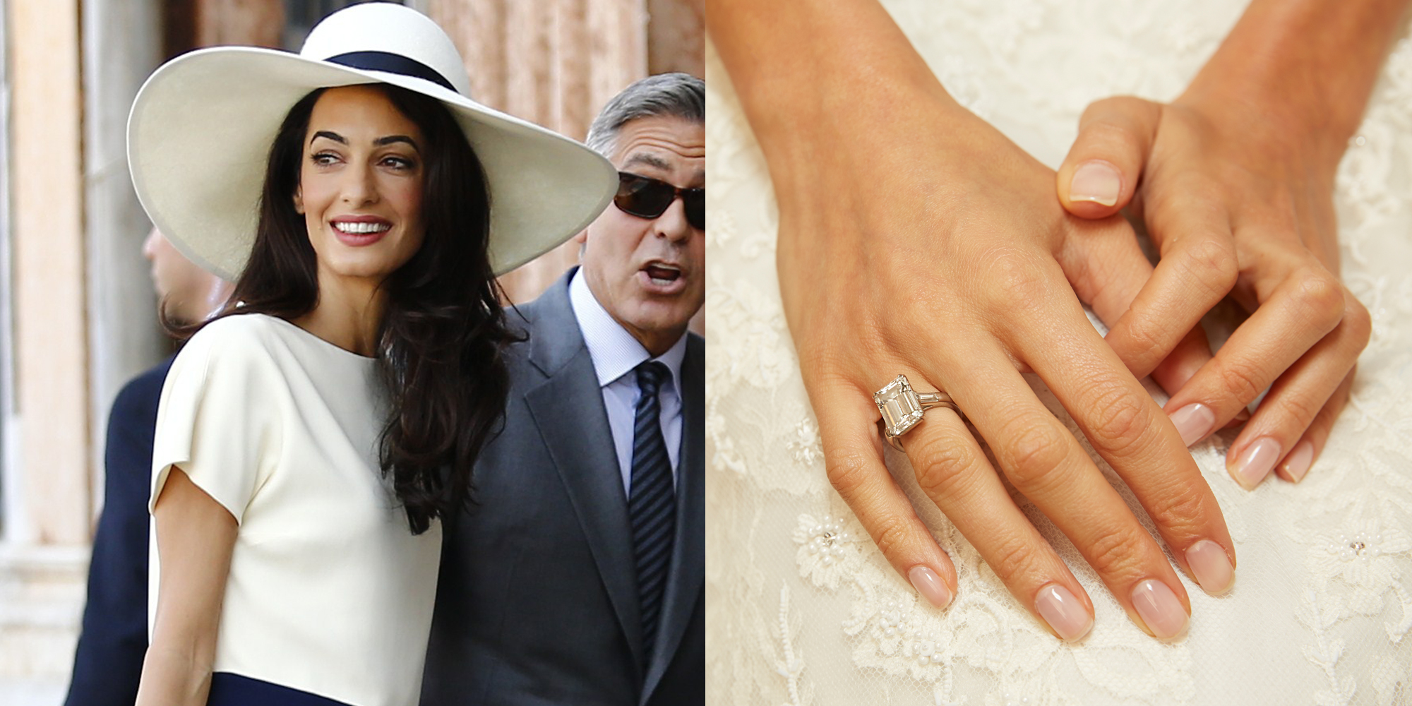 amal clooney engagement ring