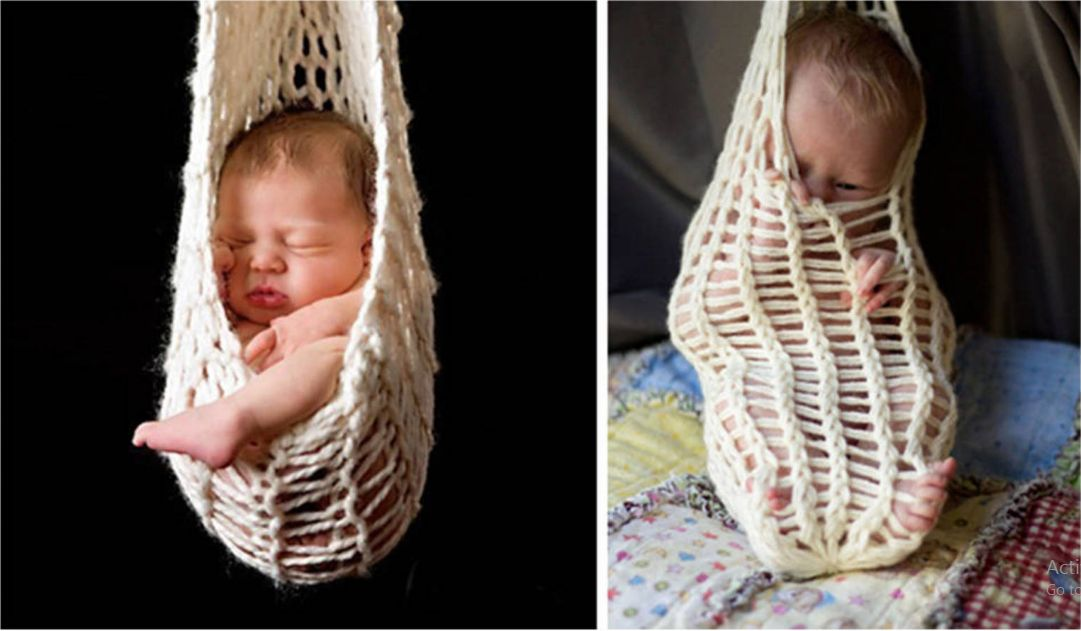 baby photo fail
