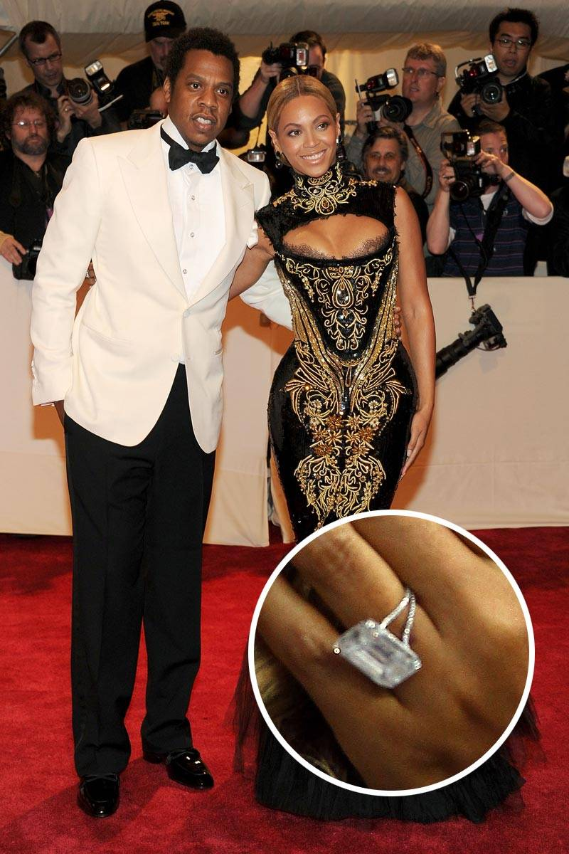 beyoncé engagement ring