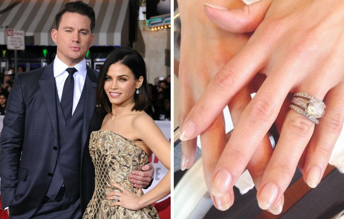 Channing Tatum And Jenna Dewan Engagement Ring