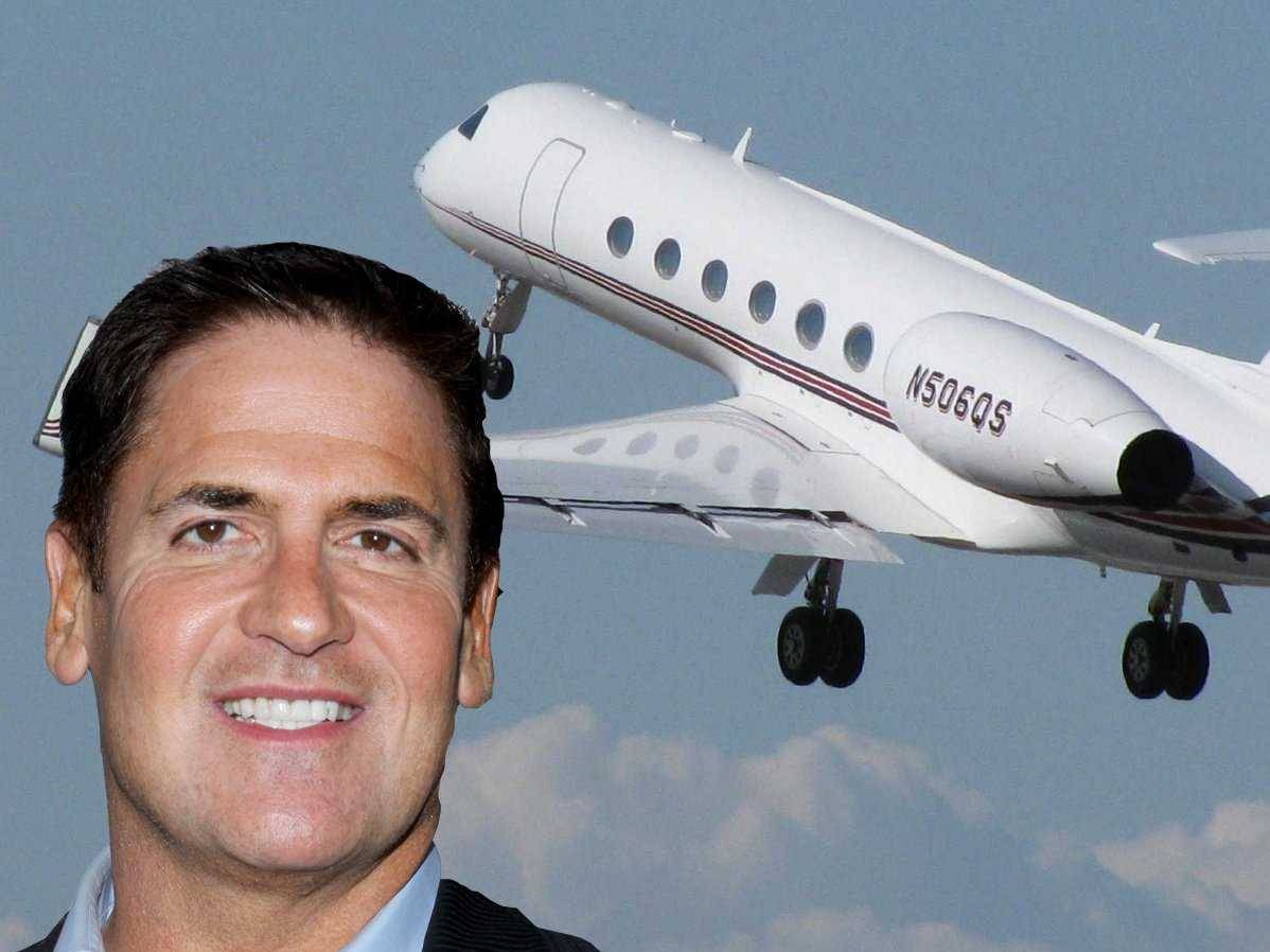 mark cuban private jet