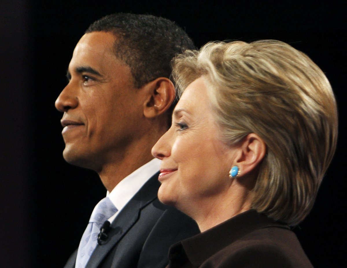 barrack and hillary
