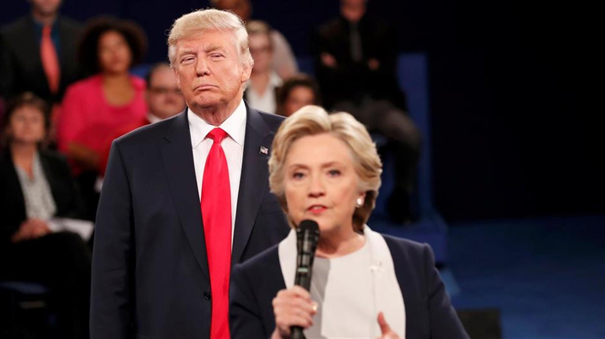trump clinton debate 2