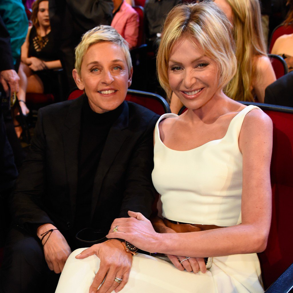 how ellen degeneres and portia de rossi meet