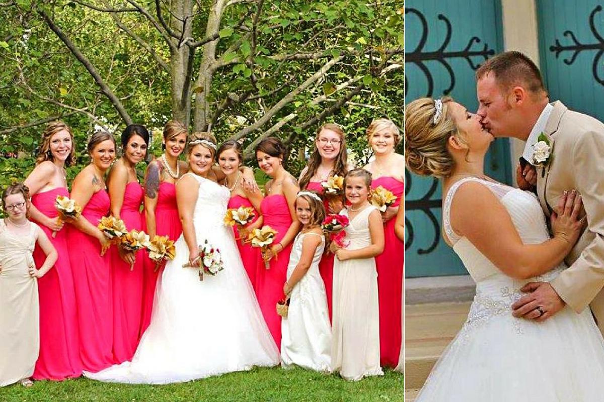 brittany peck wedding