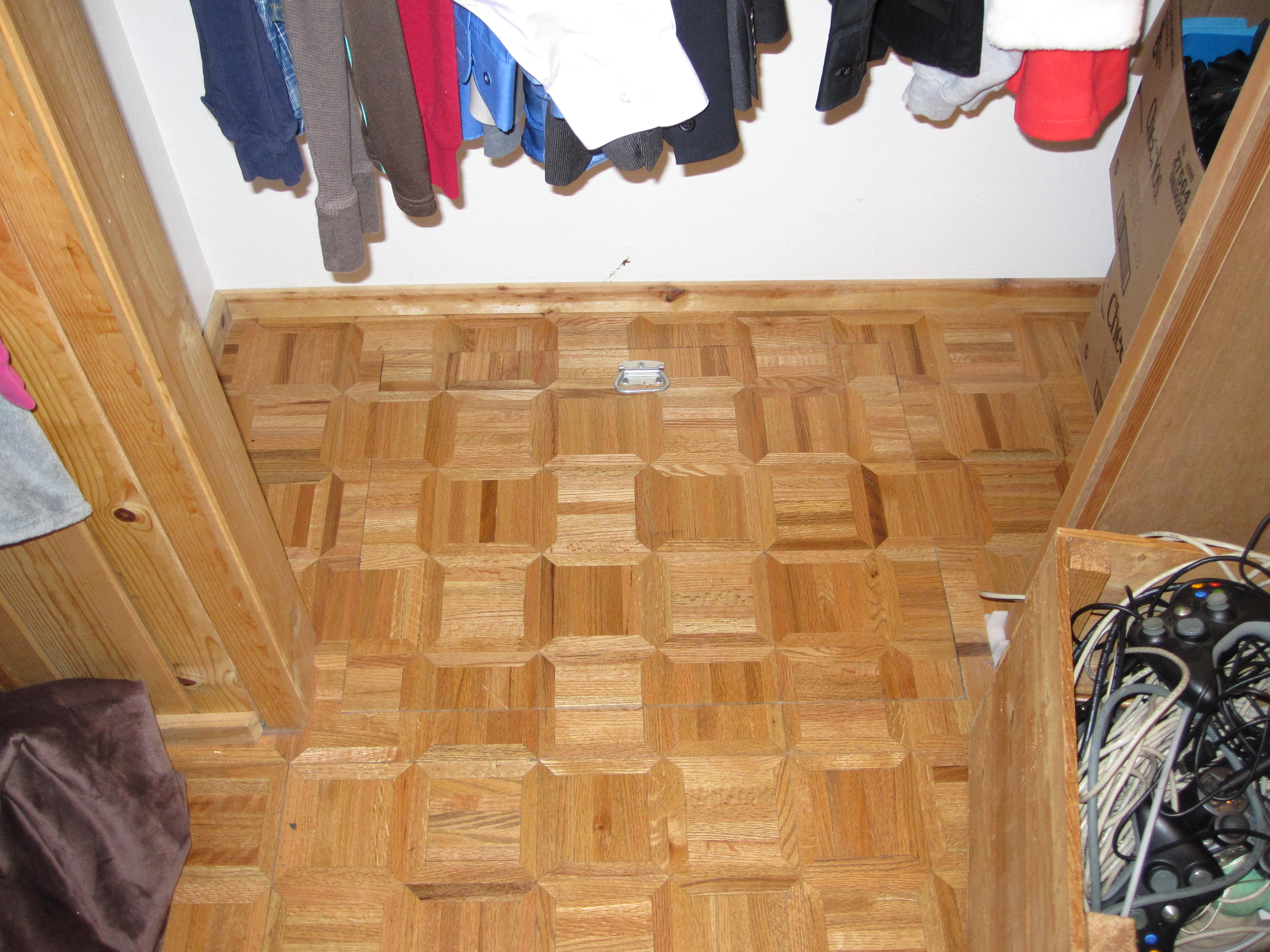 how to build a trapdoor in the floor
