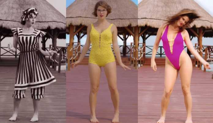 Evolution Of The Bathing Suit