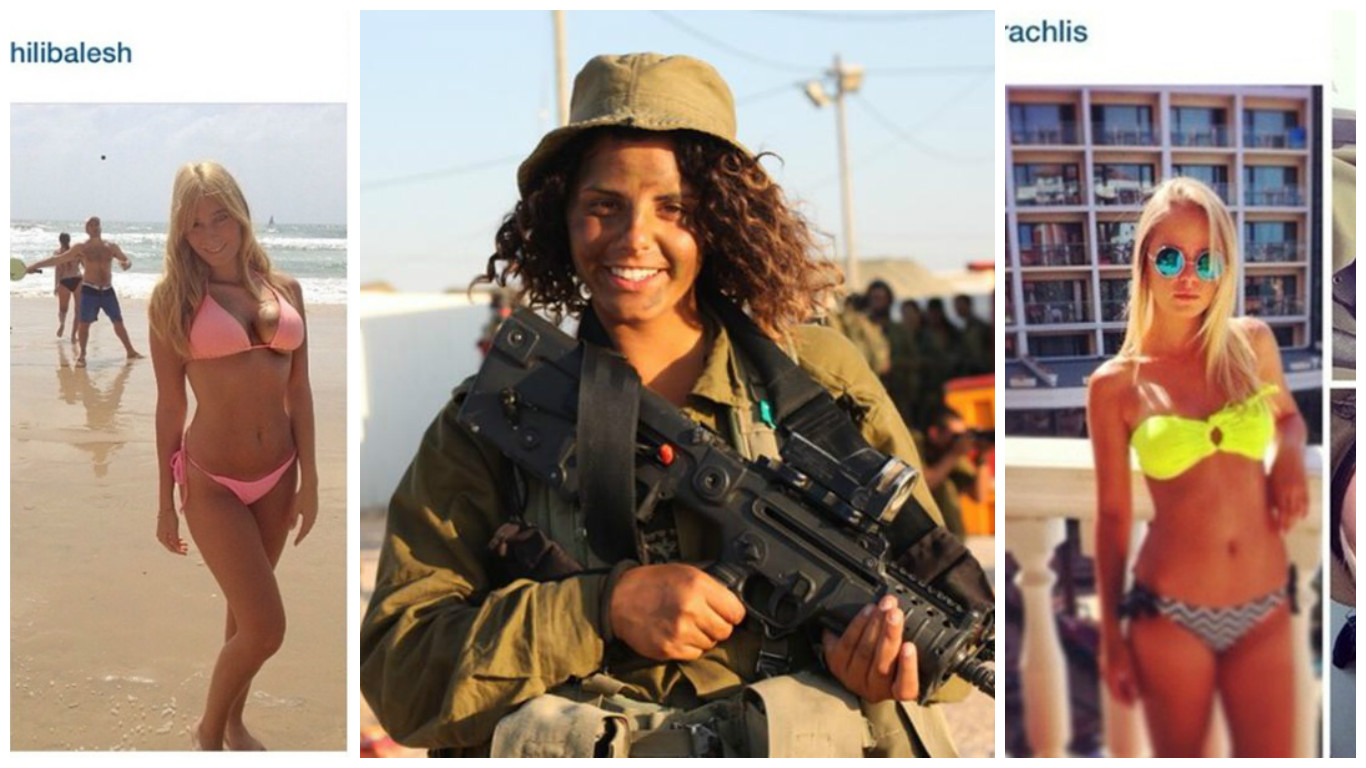 Are going Hot israeli women soldiers that