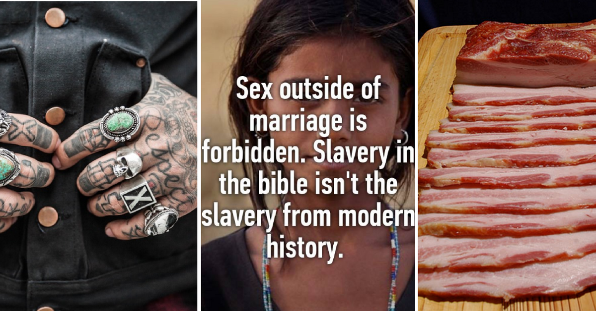 Things The Bible Considers Sin We (Including Christians) Do