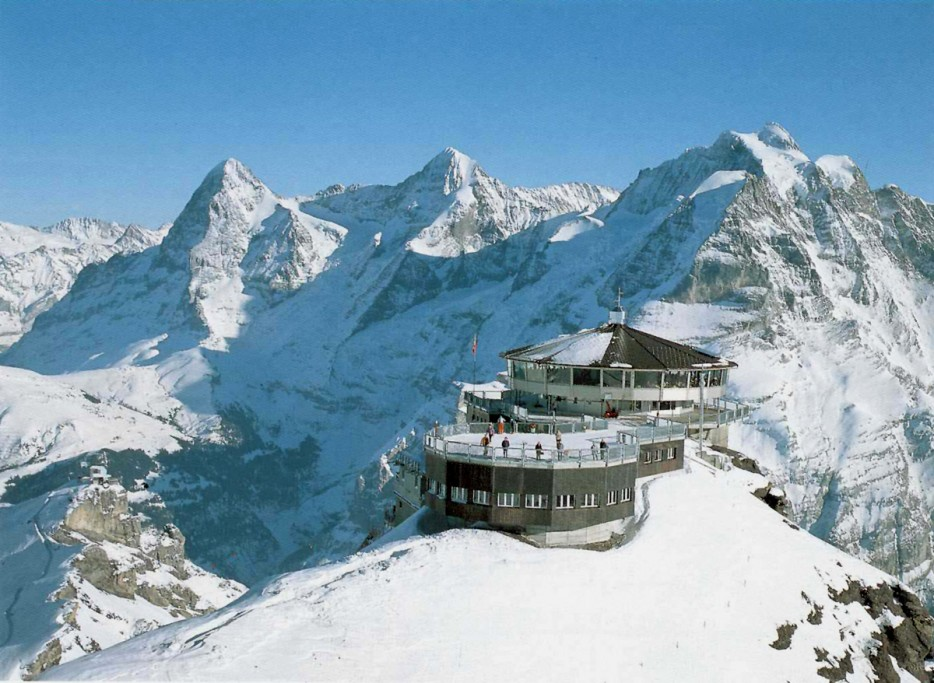 Piz Gloria at Mürren in Switzerland