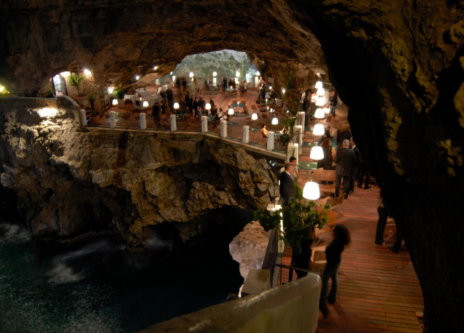 Grotta Palazzese in Italy