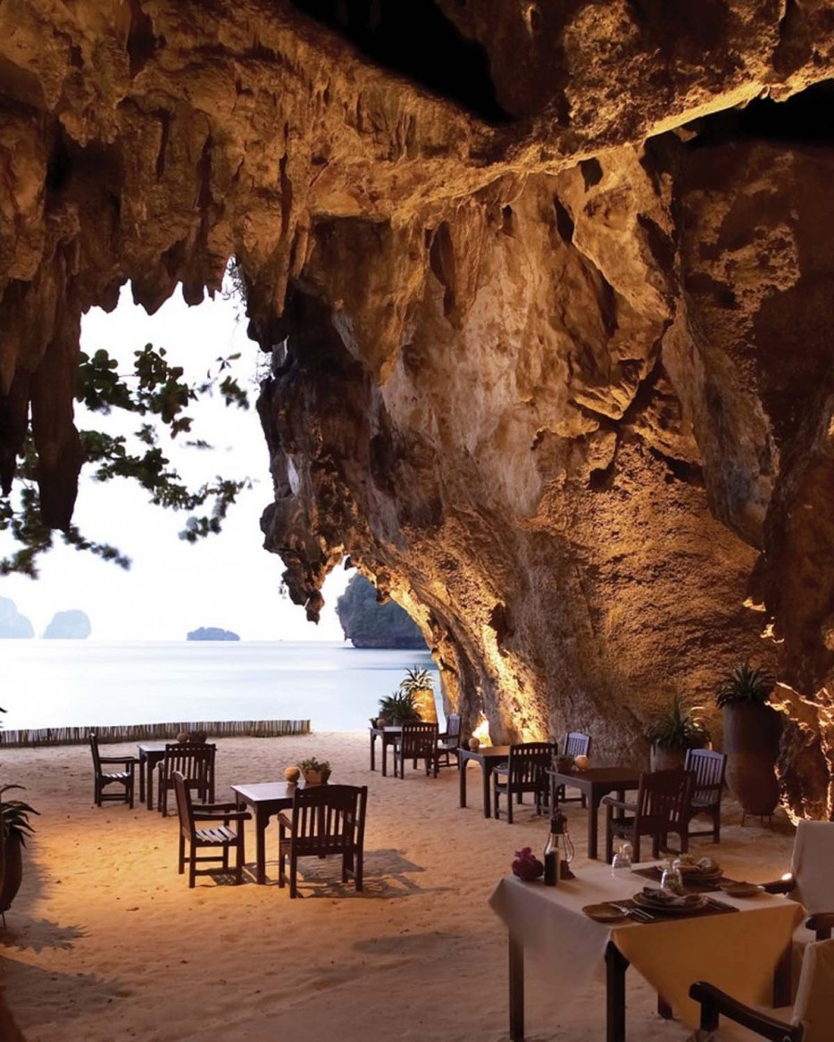 The Grotto at Krabi in Thailand