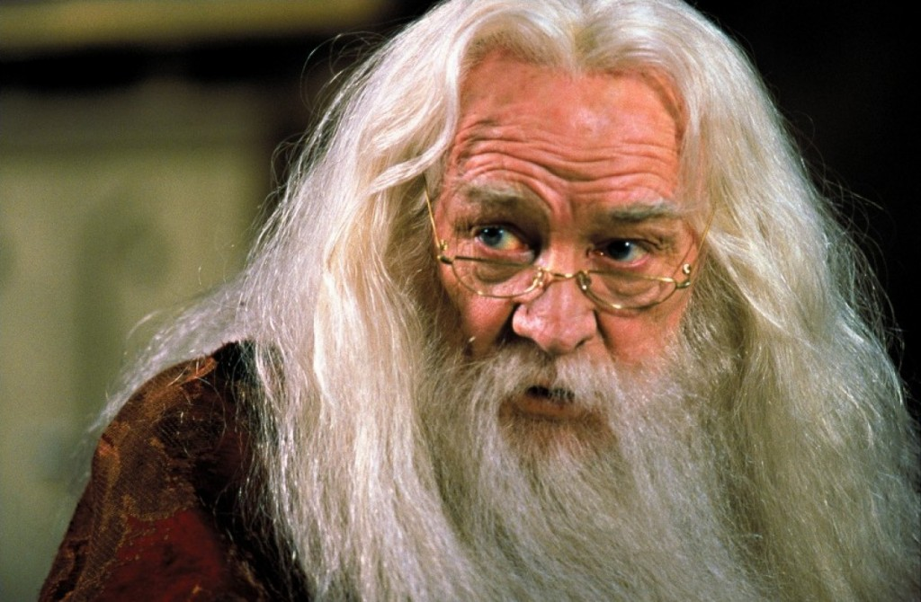Richard Harris was about to refuse the role until his 11-year-old granddaughter threw tantrums at him