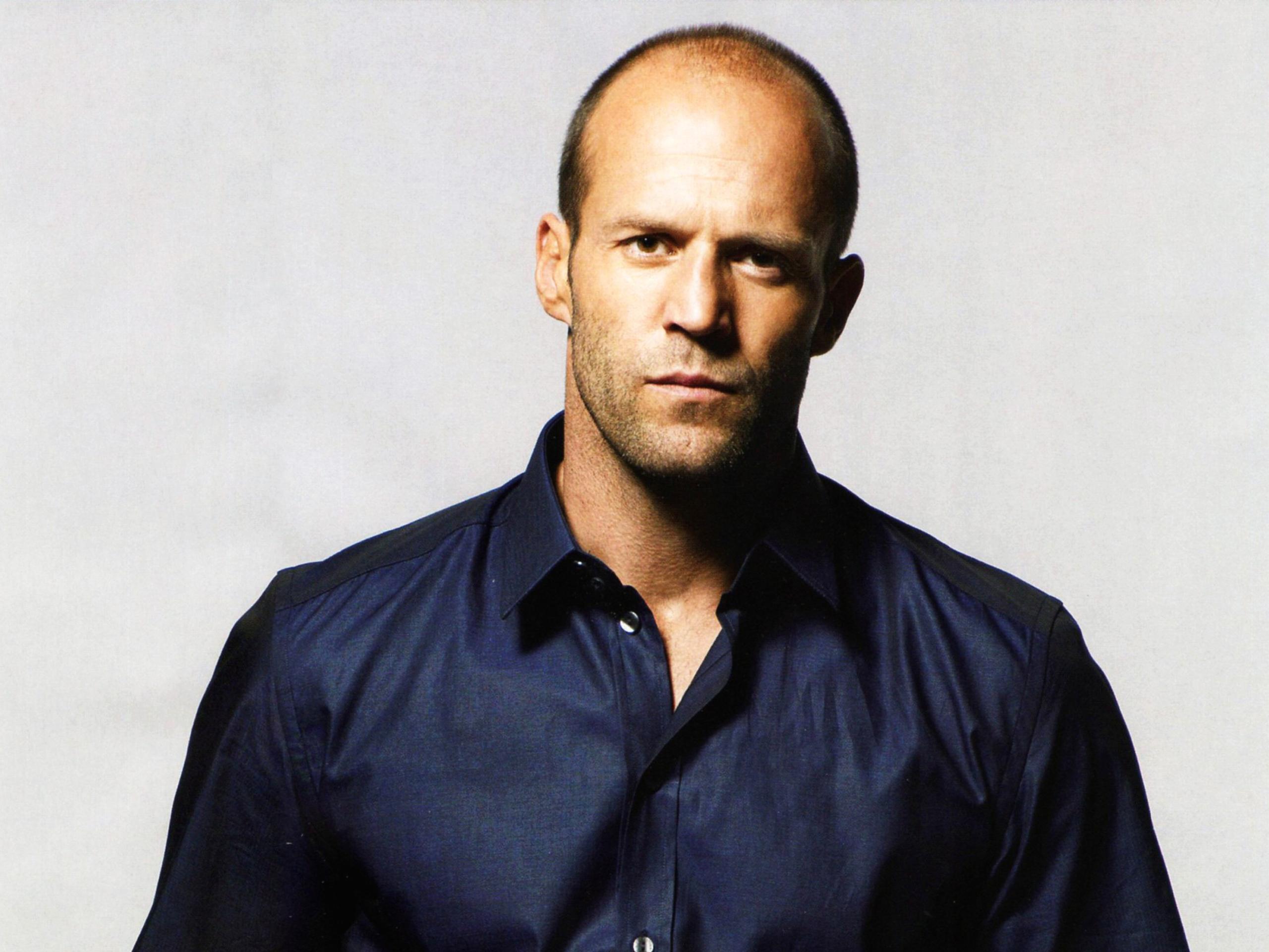 Good looking bald celeb