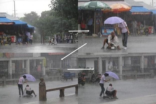 Presentation of human kindness