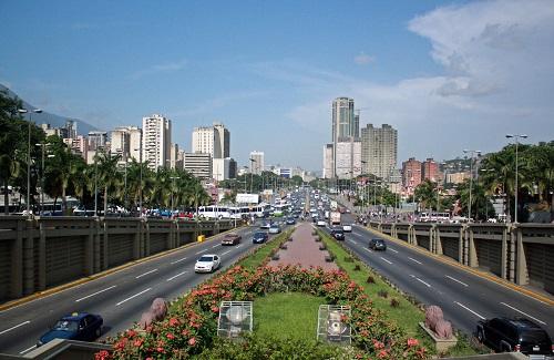 Avenida Bolivar de Caracas