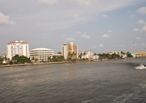 this is river niger in nigeria west africa