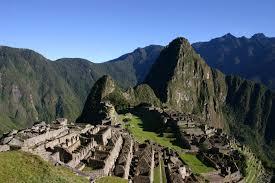 Macchu picchu ruins