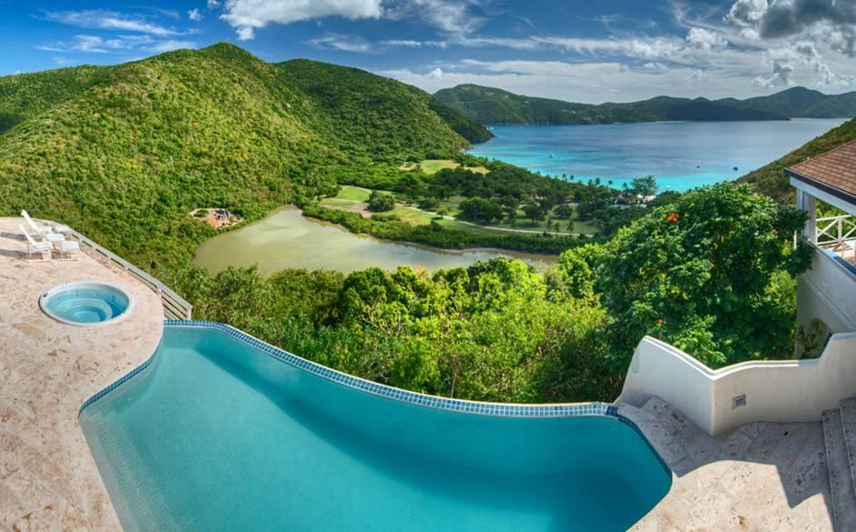 Guana Island Harbour House Villa