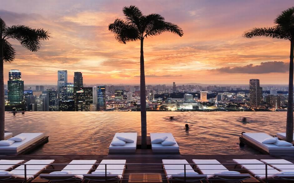 Marina Bay Sands Hotel Sky Park, Singapore