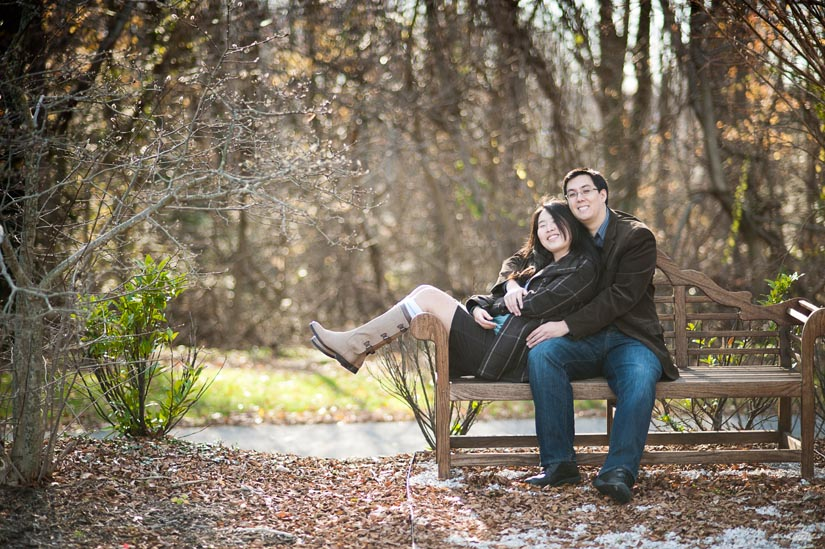 Quiet couple enjoying their time. Do you enjoy yours too?