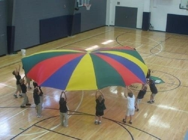The joy of walking into gym class and seeing this laid out on the floor