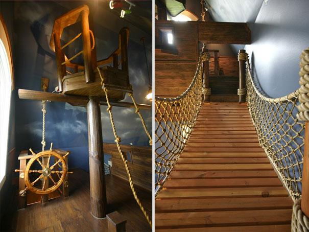 Pirate Ship Bedroom 2