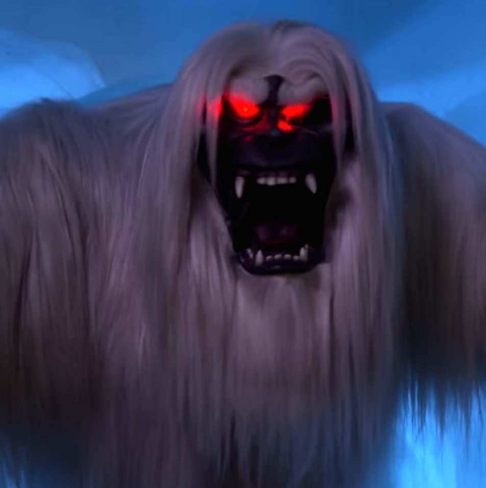 The abominable snowman in the Matterhorn is named Harold.