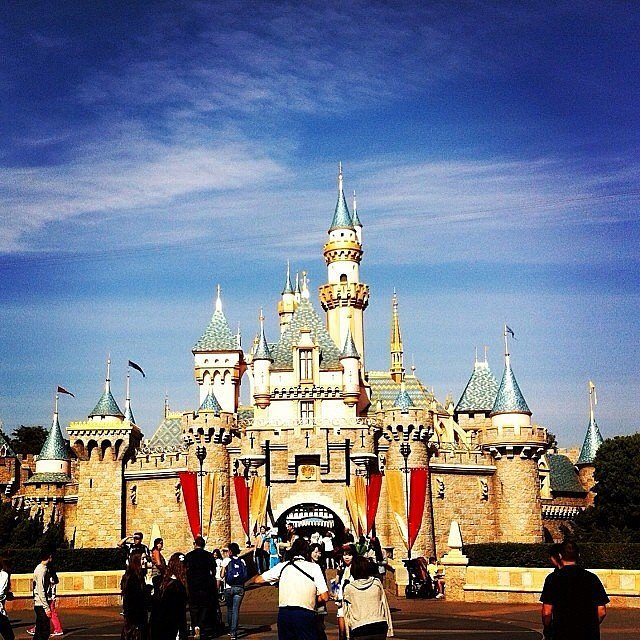 Disneyland was built in one year.