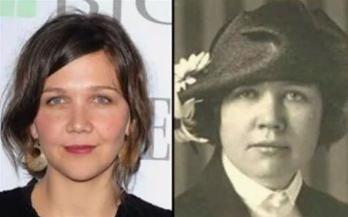 Maggie Gyllenhaal and Rose Wilder Lane