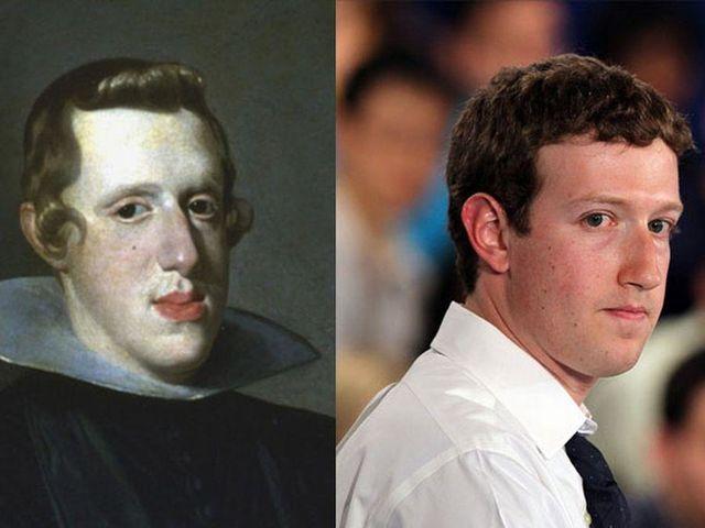 Philip IV of Spain and Mark Zuckerberg.