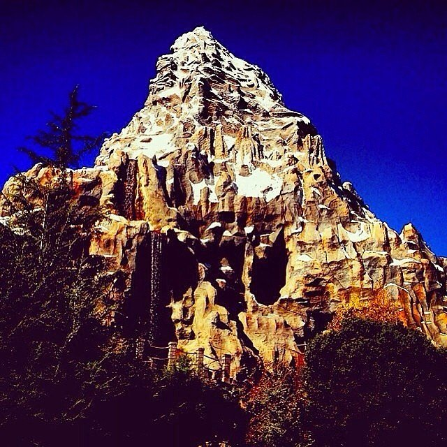 There is a basketball court at the top of the Matterhorn.