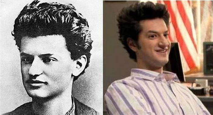Leon Trotsky and Ben Schwartz