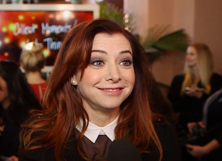 Vibrant actress Alyson Hannigan probably gets carded for alcohol occasionally, but she's 40 years old!