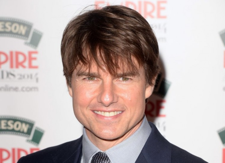 Despite looking like he's still in his 30s, actor and three-time divorcee Tom Cruise is actually 52.