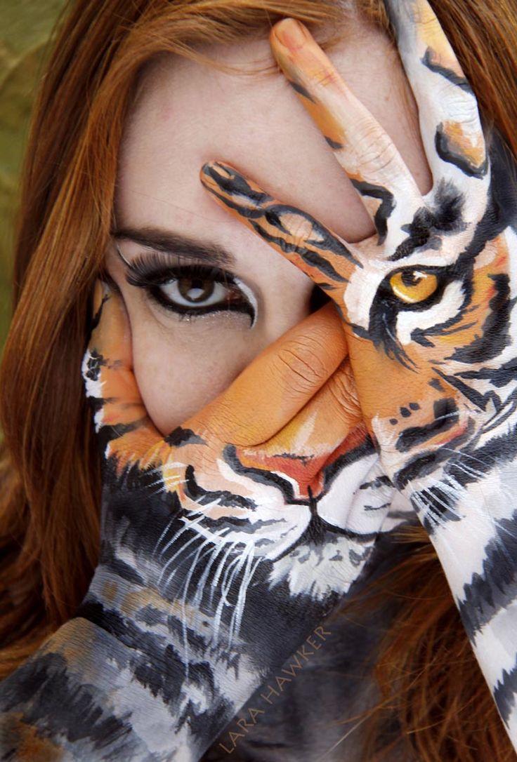 Body Painting Fashion Art | Fashion painting, Body
