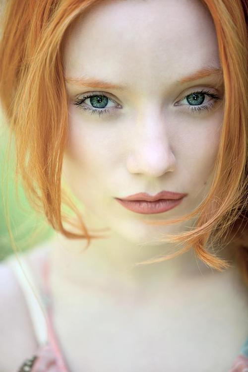 Redhead cam girl