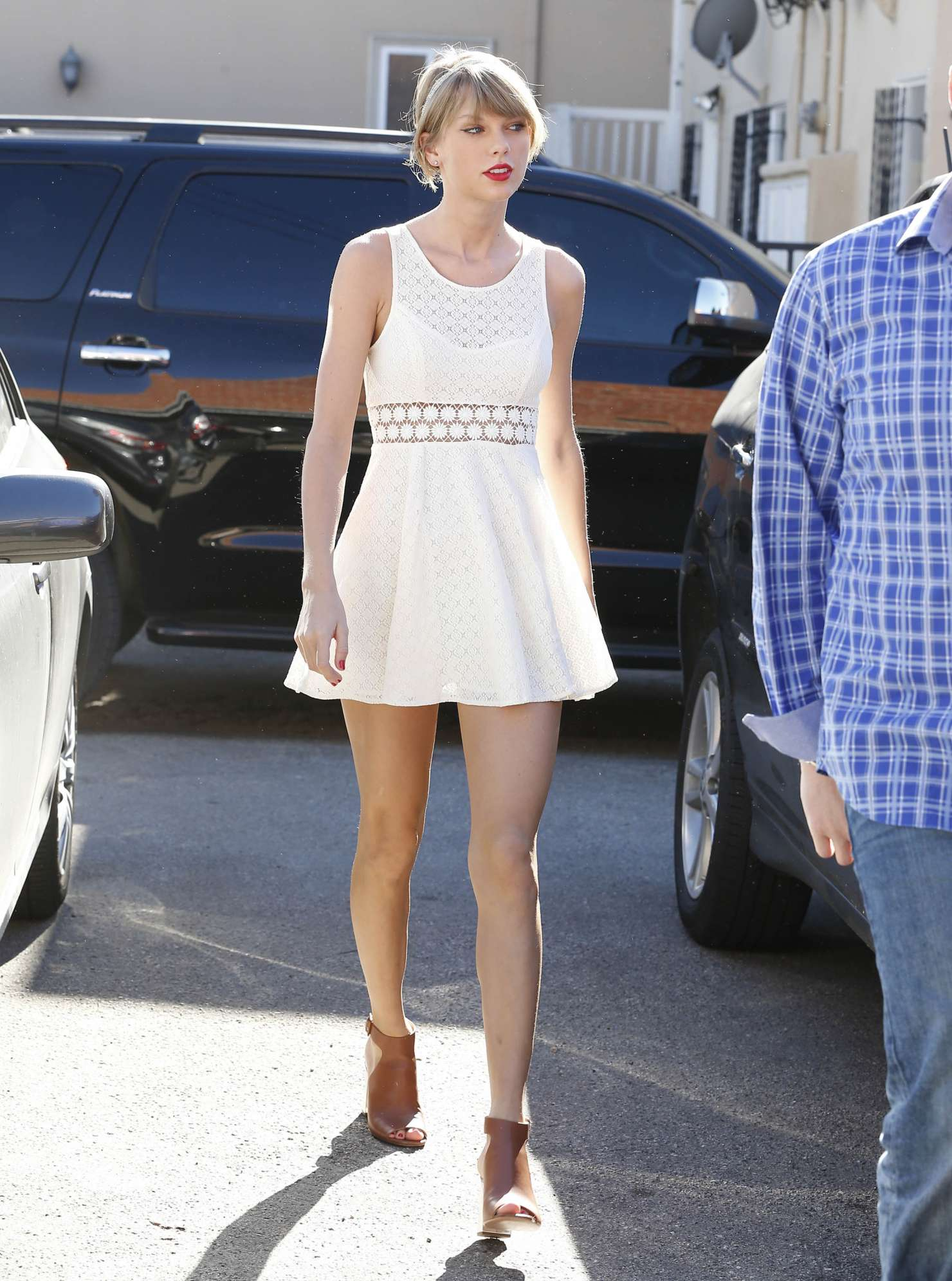 Taylor Swift Red Shoes