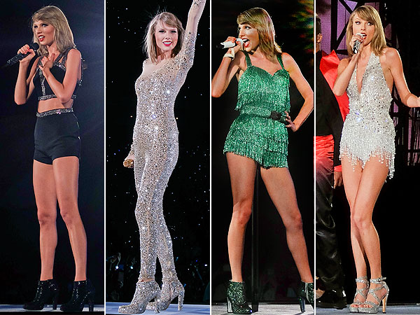 A Beautiful Gallery Of Taylor Swift S 40 Million Legs